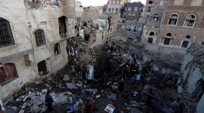 Suudi Arabistan Yemen'i Vurdu, Ölü ve Yaralılar Var!