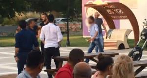 Tekirdağ Çorlu'da Çocuk Parkında Falçatalı Kavga! Çocuklar Korku Dolu Anlar Yaşadı!