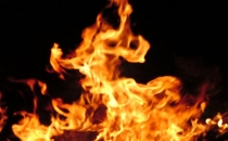 Teknede yangın çıktı