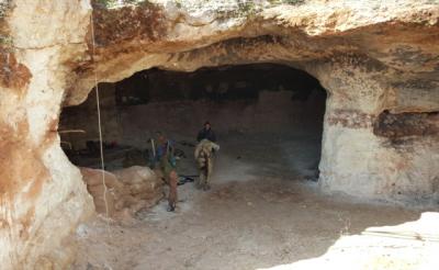 TSK ve ÖSO Eze Eze İlerliyor! Afrin'de Teröristlerin Saklandığı Mağaralara Girildi, İşte İlk Görüntüler