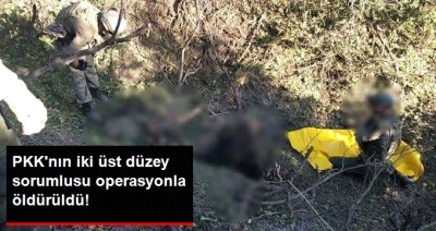 Tunceli'de Düzenlenen Operasyonda PKK'nın Üst Düzey İki Sorumlusu Öldürüldü