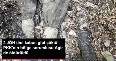 Tunceli'de JÖH Timlerinden PKK'ya Ağır Darbe! PKK'nın Tunceli Sorumlularından