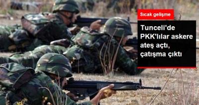 Tunceli'de Teröristler Askere Ateş Açtı! Çıkan Çatışmada Yaralı Var Mı?