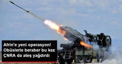 Türk Silahlı Kuvvetleri, Suriye'deki PYD Mevzilerini Fırtına Obüsleri ile Vurdu!