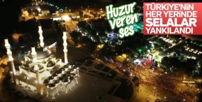 Türkiye'nin Her Yerinde 90 Bin Camide, 1 Yıl Sonra Aynı Saatte, Selalar Okundu!