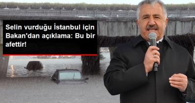 """Ulaştırma Bakanı'ndan Selin Vurduğu İstanbul İçin Açıklama: """"AFAD ve İBB Teyakkuzda"""""""