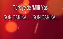 Yarın Türkiye'de 'Milli Yas' İlan Edildi