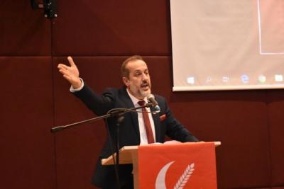 Yeniden Refah Partisi Sultangazi 1. Olağan İlçe Kongresi'de Orhan Kara Başkan Seçildi