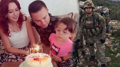 Yüreğimiz Bir Kez Daha Yandı! Afrin'de 1 Üsteğmen Şehit Oldu