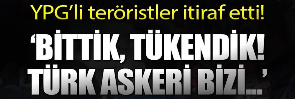 YPG'li Teröristler Ağlayarak İtiraf Etti: